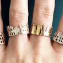 Famous Cities Skyline Rings