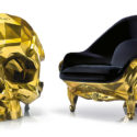 For Your SuperVillain Ambitions: A $500,000 Golden Skull Chair