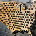 USA Beer Cap Map For The Craft Beer Lover In Your Life