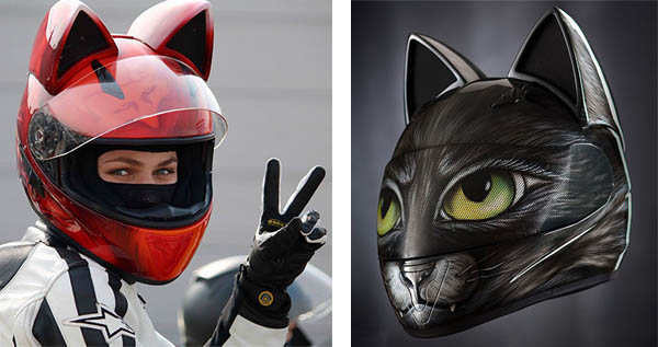 Cat Ear Motorcycle Helmets Are A Thing That Exists Ohgizmo
