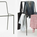 Sacrificial Chair Serves As A Clothes Rack