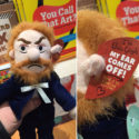 Vincent Van Gogh Plush Doll With Removable Ear