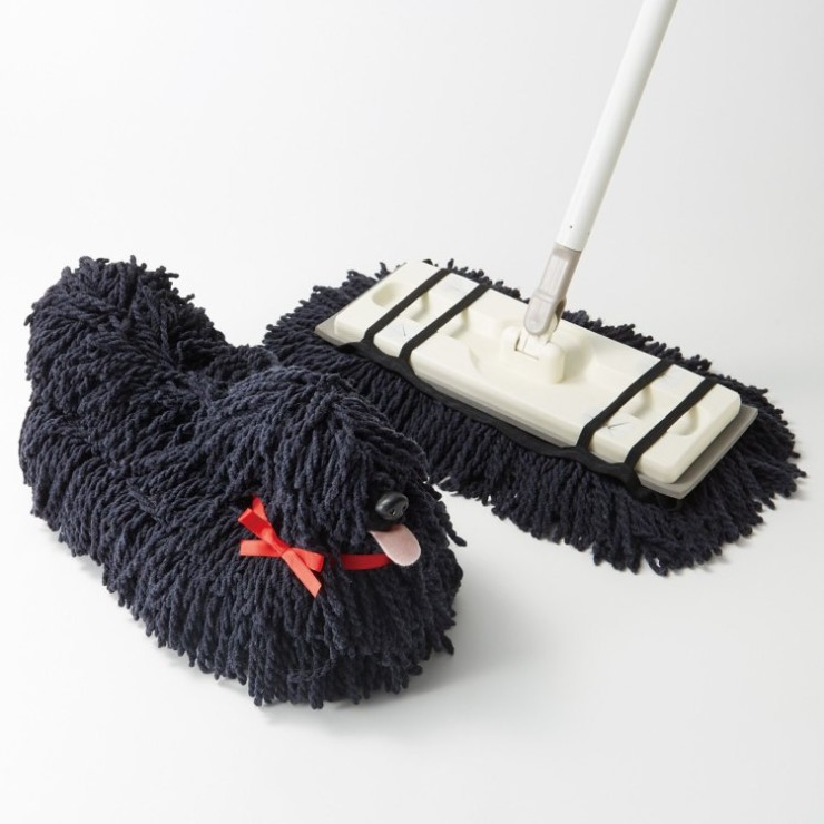 The Dog Mop That Looks Like A Mop Dog Ohgizmo