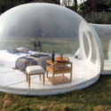 That's What We've Always Wanted: Sleeping Outdoors In a Giant Clear Bubble