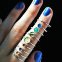 Wear The Planets On Your Fingers
