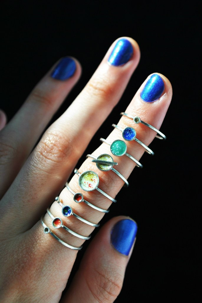 Wear The Planets On Your Fingers | OhGizmo!