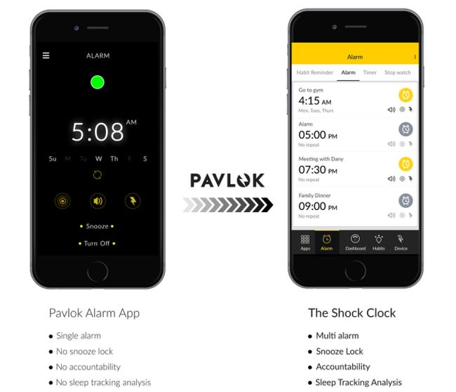 Shock-Clock-wearable-app