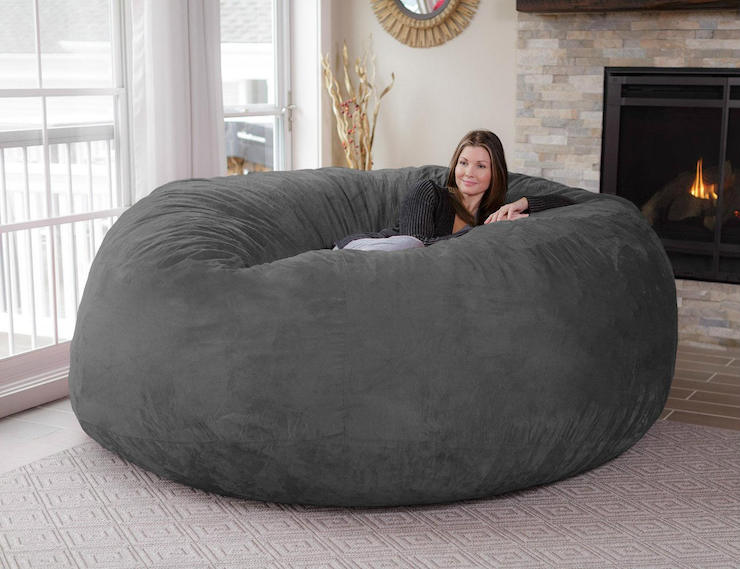 Chill Bag The Eight Foot Bean Bag Ohgizmo