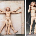 Poor Leo: There Now Exists A Vitruvian Man Action Figure
