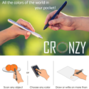 Cronzy Pen Scans Any Color You Want, Then Writes In That Color