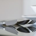 Germophobes: Elevated Titanium Silverware Will Keep Your Radar Quiet