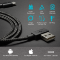 Deal Of The Day: Zus Kevlar MFi Certified Lightning Cable For $19.99