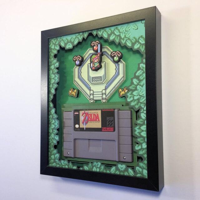 Retro Gaming Shadow Boxes Ohgizmo