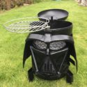 Darth Vader Mask BBQ and Fire Pit
