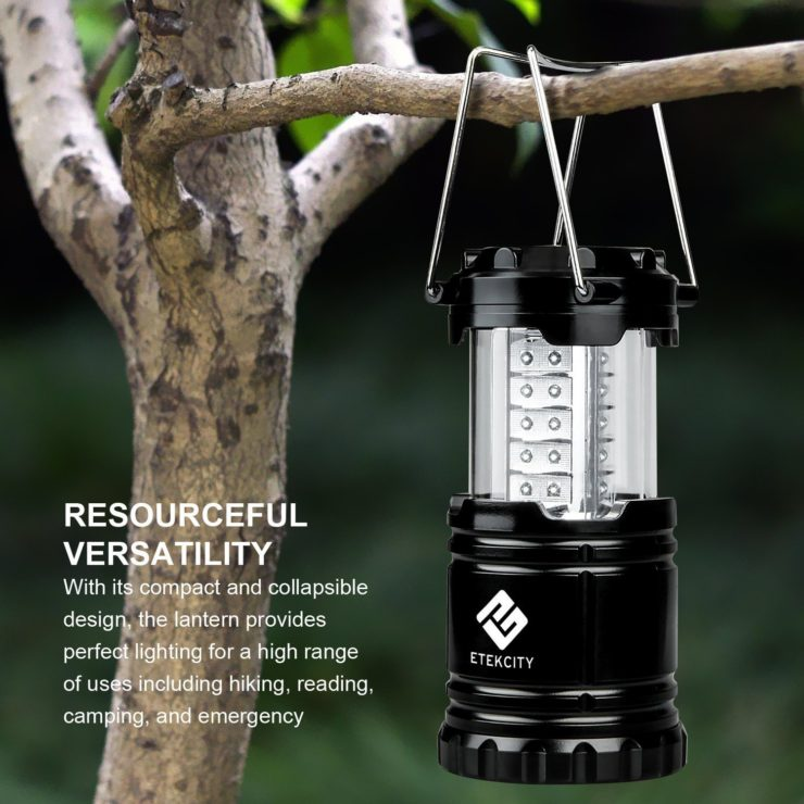 Etekcity Portable Outdoor LED Lantern