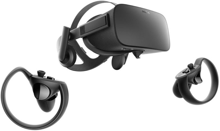 Oculus Rift + Touch Virtual Reality System