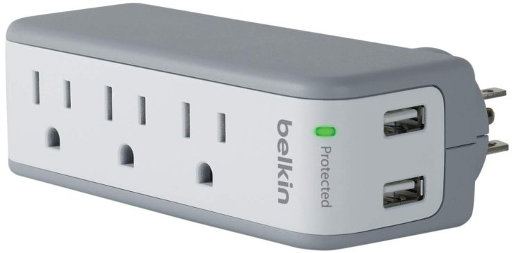 Belkin 3-Outlet SurgePlus Surge Protector