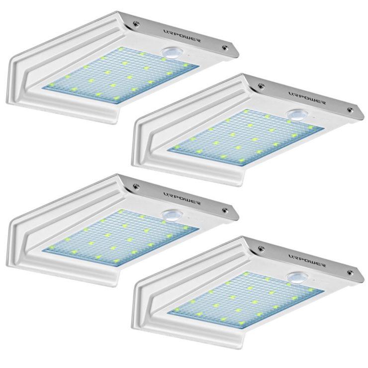 URPOWER Solar Motion Sensor Lights