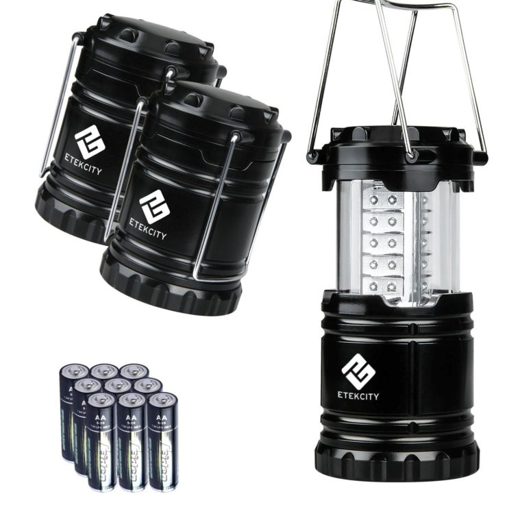 Etekcity Portable Outdoor LED Lanterns