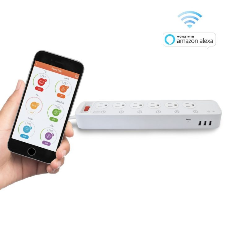 Digital Gadgets Multi-Outlet Smart Power Strip