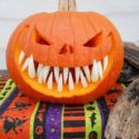 Give You Pumpkins A Little Extra Bite With Fake Fangs