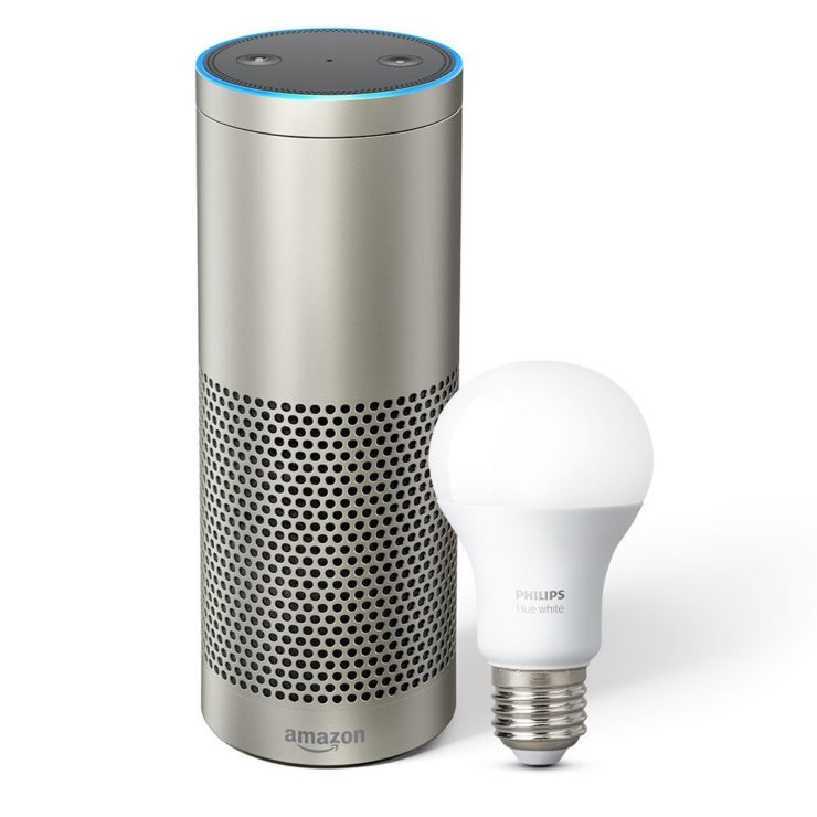Echo Plus with built-in hub + Philips Hue Bulb