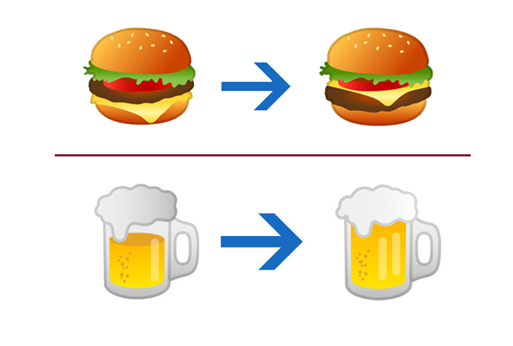 Google fixes the cheeseburger emoji in upcoming Android 8.1 software update