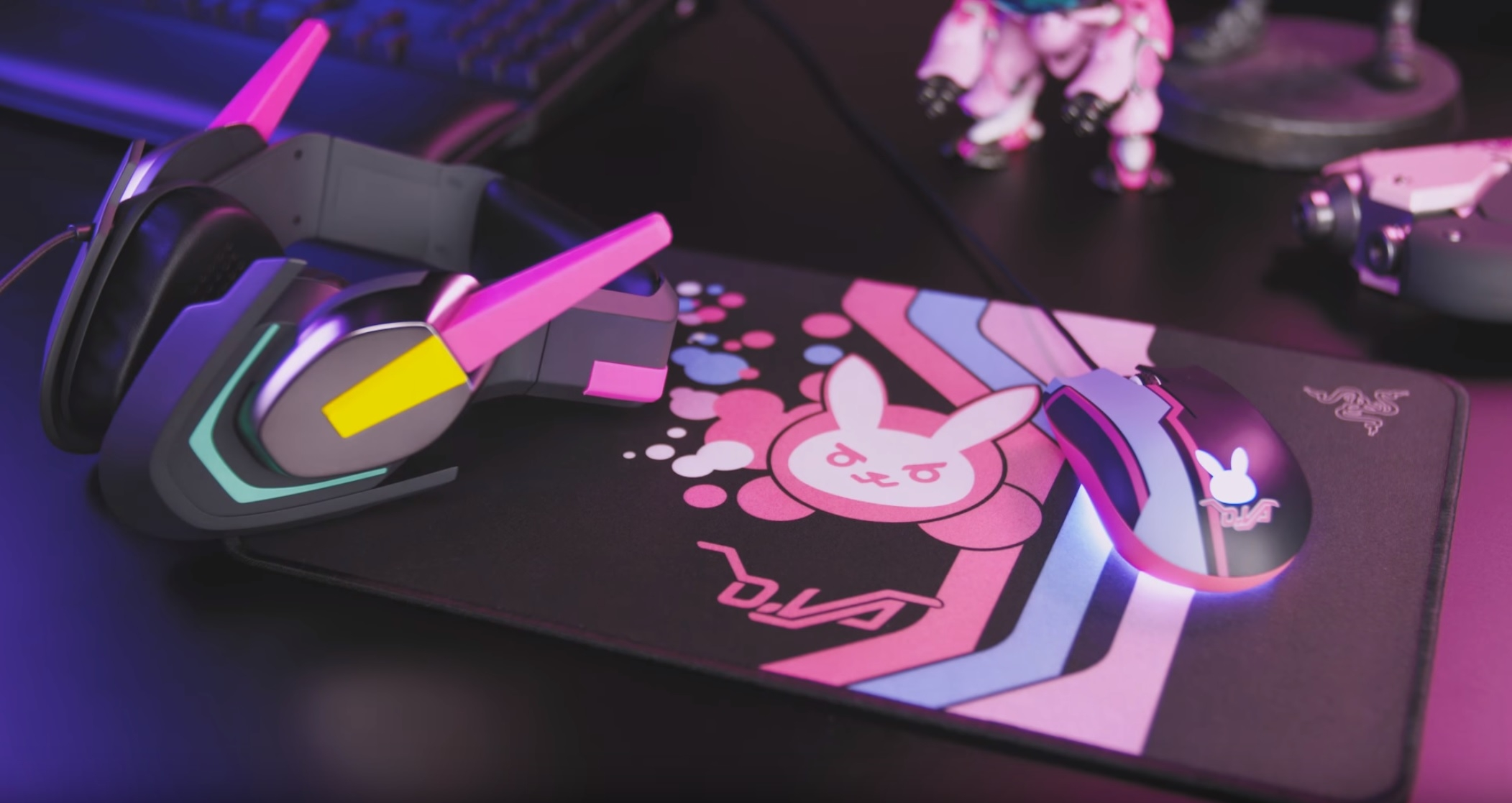 Razer Announces D Va Themed Headset And Mouse Ohgizmo