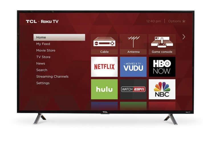 TCL Roku Smart LED TV